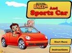 Чхота Бхим на спортивной машине