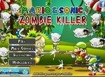 Денди Марио и Соник убивают зомби