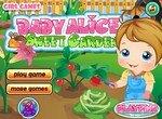 Помоги Алисе украсить сад