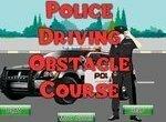 Полицейский на курсах вождения