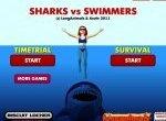 Спаси пловцов от акул