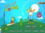 Барт запускает Гомера
