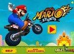 Трюки Супер Марио на байке
