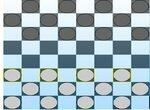 Партия в классические шашки