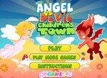 Ангел и демоны в детском городке