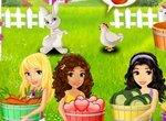 Лего Френдс: Девочки кормят животных