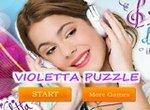 Виолетта: Пазл для девочек