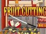 Режем  фрукты мечом