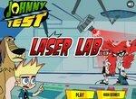 Джони Тест в лазерной лаборатории
