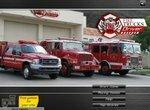 Водитель пожарной машины спешит на пожар