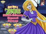 Одевалка зомби принцессы Рапунцель