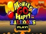Счастливая обезьянка: Воздушные шарики