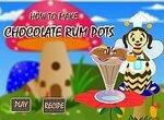 Пчелка готовит шоколадное мороженое