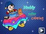 Нодди: Раскраска для детей