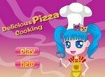 Приготовление вкусной пиццы с артишоками