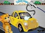 Автомойка: Говорящий кот Рыжик моет машину