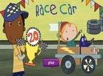 Пег и Кот участвуют в гонках