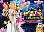 Принцессы Диснея отдыхают в Хэллоуин