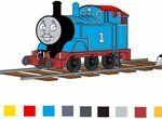 Томас и его друзья: Детские раскраски