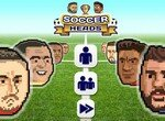 Уникальный футбольный матч головами