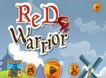 Красный воин-кубик