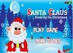 Одень Санта Клауса к Рождеству