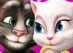 Романтическая песня кота Тома и Анжелы