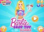 Модный дизайн кроп-топов от Барби