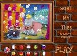 Пазл: Цирковой слоненок Дамбо