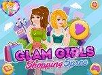 Гламурные девушки на шоппинге