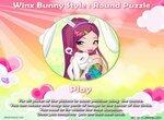 Круглые пазлы: Винкс в образе зайчика