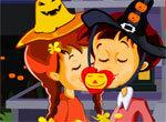 Поцелуи в ночь Хэллоуина