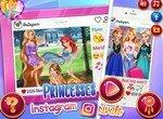 Принцессы Диснея: Конкурентки в Инстаграм