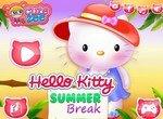 Хелло Китти на летних каникулах