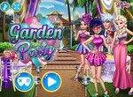 Леди Баг проводит вечеринку в саду
