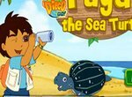 Диего и морская черепаха