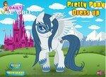Одевалка с красивой пони