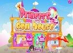 Переделка кукольного домика принцессы