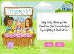Холли Хобби продает лимонад