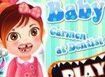 Малышка Кармен у зубного врача