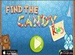 Найди конфету 2: Дети