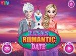 Спаси романтическое свидание Эльзы