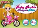 Малышка Барби: Езда на велосипеде