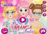 Создай крутой манга аватар