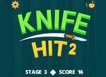 Кидай ножи в мишень 2