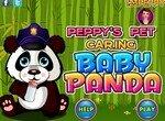 Ухаживай за крошкой пандой