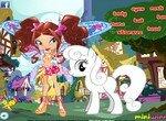 Принцесса Винкс гуляет с пони