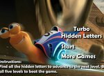 Турбо: Найди спрятанные буквы