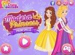 Макияж и одевалки: Современная принцесса