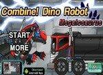 Собери робота-трансформера Мегалозавра